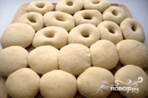Пончики на дрожжах жареные - фото шаг 7