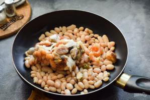 Фасоль с морепродуктами - фото шаг 4