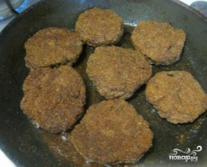 Печеночные котлеты из говяжьей печени - фото шаг 9