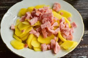 Картошка с карбонатом в духовке - фото шаг 4