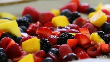 Замороженный йогурт и ягоды - фото шаг 1