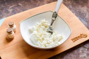 Лаваш с творогом и сыром - фото шаг 2