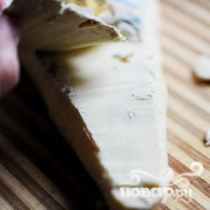 Фаршированные грибы с сыром Бри - фото шаг 10