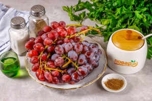 Соус из винограда на зиму - фото шаг 1