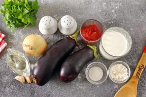 Баклажаны в томатно-молочном соусе - фото шаг 1