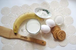 Банановый пудинг с печеньем - фото шаг 1