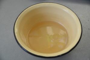 Хворост из жидкого теста - фото шаг 9