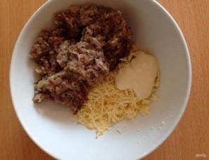 Зразы картофельные с мясом в духовке - фото шаг 3
