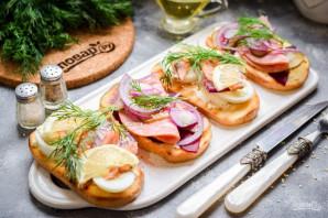 Датские бутерброды - фото шаг 10