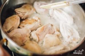 Чахохбили с курицей - фото шаг 1