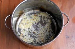 Зимний фасолевый суп с колбасками - фото шаг 3