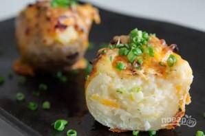 Запеченный картофель с сыром в духовке - фото шаг 5