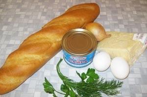 Бутерброды с сайрой и яйцом - фото шаг 1