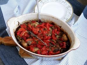 Рагу из маринованного кролика с овощами и грибами - фото шаг 8