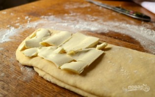 Слоеное тесто на кефире - фото шаг 5