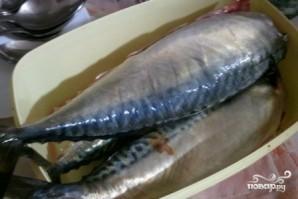 Рыба, тушенная с овощами в мультиварке - фото шаг 1