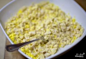 Куриный салат с грибами - фото шаг 9