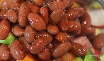 Овощная кесадилья с красной фасолью - фото шаг 6