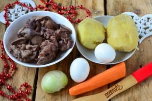 Новогодний салат в Год Собаки - фото шаг 1