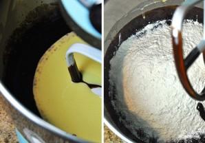 Шоколадный торт с заварным кремом - фото шаг 4