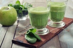 Зеленый коктейль с черносливом - фото шаг 4