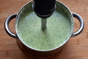 Суп из цукини со шпинатом и киноа - фото шаг 6