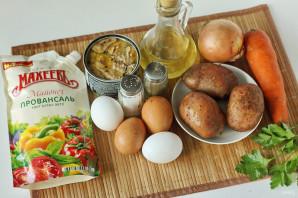 """Салат из рыбных консервов с майонезом """"Махеевъ"""" - фото шаг 1"""