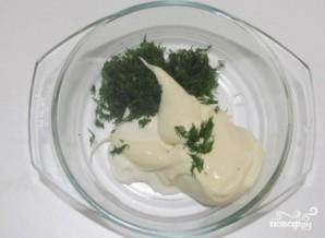 Сырные капкейки - фото шаг 7