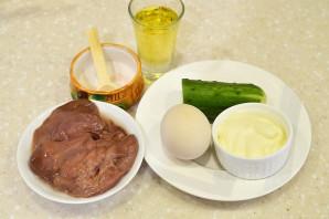Салат из гусиной печени - фото шаг 1
