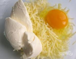 Картошка в духовке с сыром и майонезом - фото шаг 4