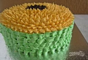 "Торт ""Подсолнух"" - фото шаг 9"