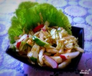 Салат из пекинской капусты - фото шаг 7