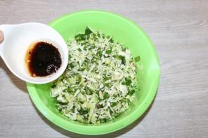 Хрустящий зелёный салат - фото шаг 6