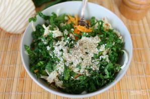 Салат с колбасным сыром и морковью - фото шаг 6