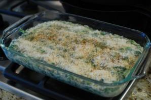 Сливочный шпинат в духовке - фото шаг 10