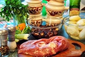 Грибы шиитаке в духовке - фото шаг 2