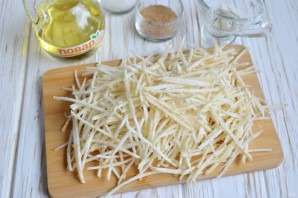 Салат с сельдереем - фото шаг 2