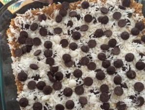 Пирог из крекеров со сгущенкой и шоколадом - фото шаг 8