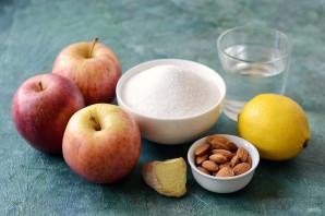 Яблочное варенье с миндалем - фото шаг 1