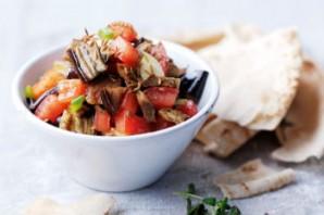 Салат с баклажанами и курицей - фото шаг 7