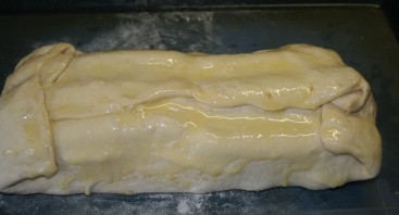 Штрудель с картошкой и сосиской - фото шаг 4