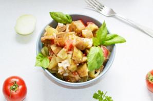 Овощи по-армянски на костре - фото шаг 10