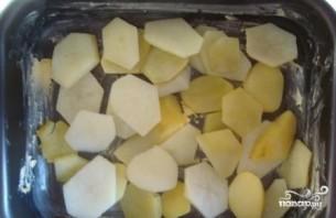 Картофельная запеканка с сосисками и сыром - фото шаг 10