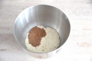 Льняной хлеб на закваске - фото шаг 5