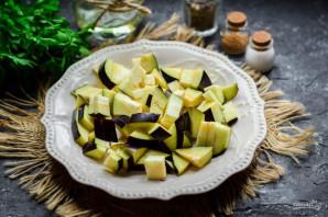 Салат из баклажанов, яиц и помидор - фото шаг 2
