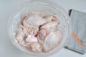 Курица с перцем и картофелем - фото шаг 3