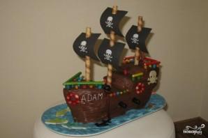 """Торт """"Пират"""" - фото шаг 8"""