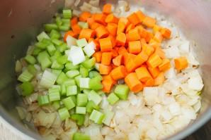 Гороховый суп-пюре с сухариками - фото шаг 5