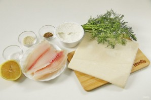 Рыба, запеченная в тесте в духовке - фото шаг 1
