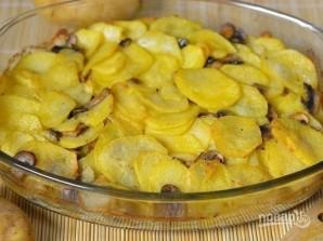 Картошка с грибами и сливками - фото шаг 6